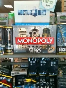 Doctor Who merchandise at the Books-A-Million in Dulles Town Center