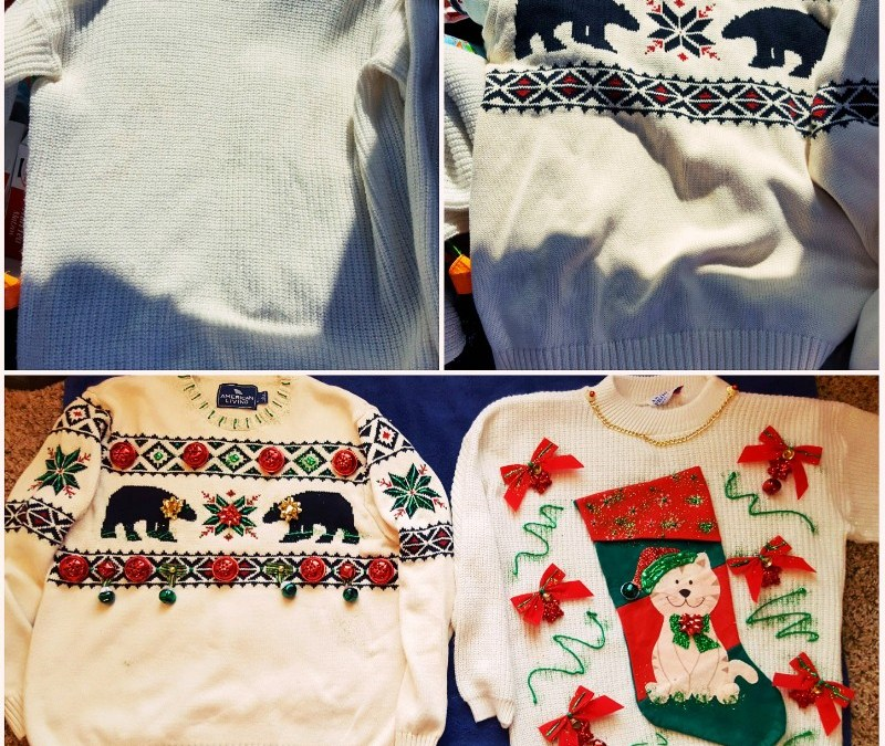 THE UGLY SWEATER!