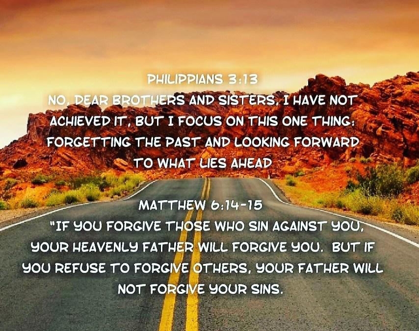 FORGIVENESS IS VITAL!
