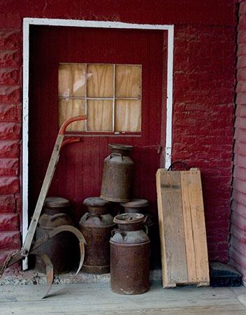 Indiana milk buckets