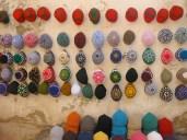 Wall of hats - Morocco