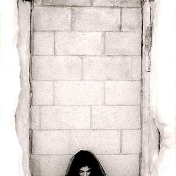 Mausoleum doorway