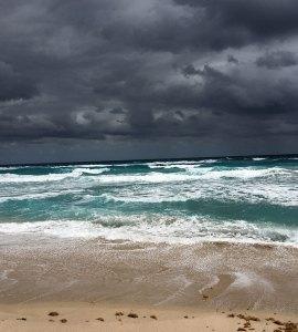 Angry ocean, Palm Beach