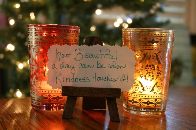the beauty of kindness