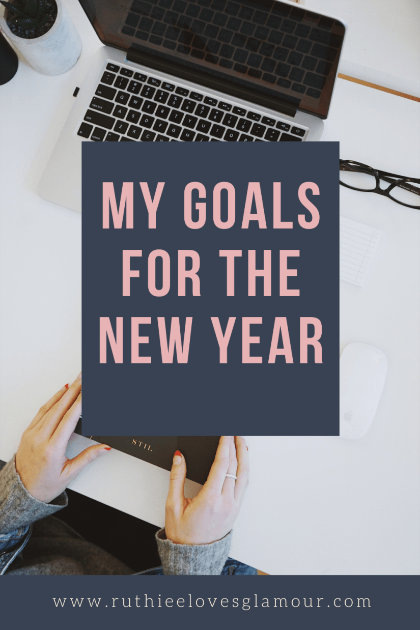 my goals for the new year