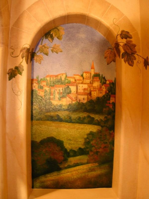 Italian Trompe L'Oeil Murals
