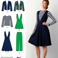 Fall 2014?!  Ten New Simplicity patterns to talk about.