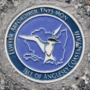 02b Anglesey coast path logo, Ruth's coastal walk