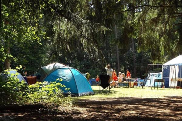 basic campsite