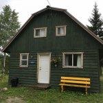 Green cottage main entrance