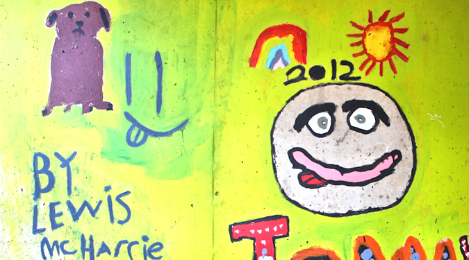 Underpass paintings, Glenluce