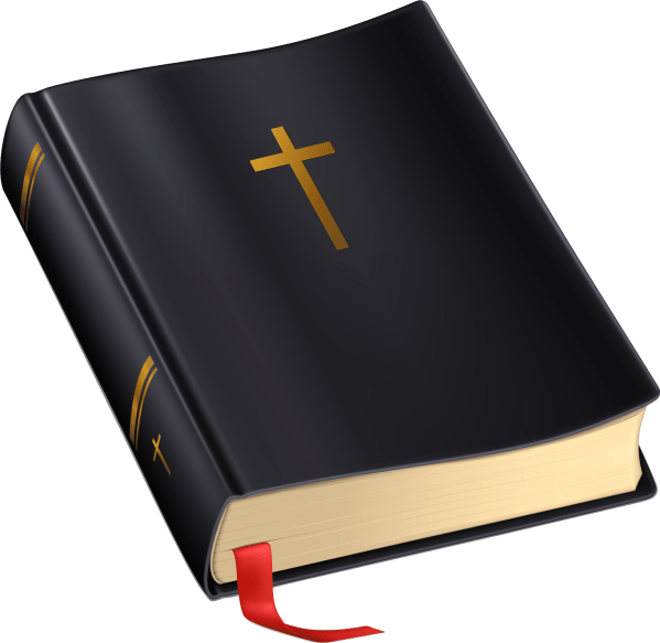 Bible and Cross Clip Art Transparent Background