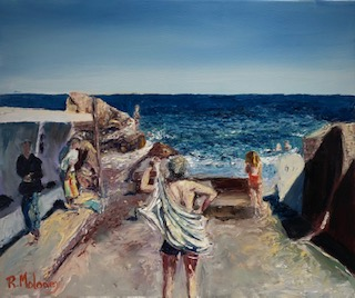 Drying Off - Forty Foot