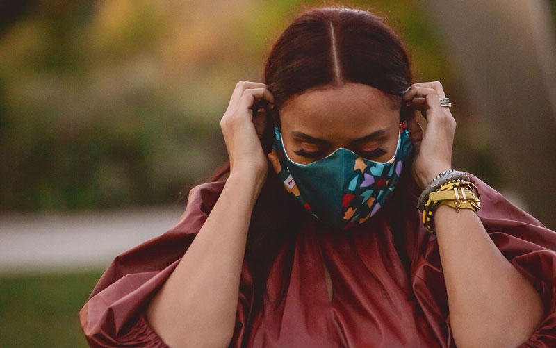 Reusable Face Masks And The Benefits Of Wearing One