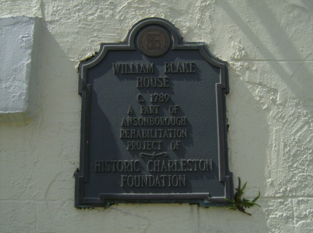 The William Blake House in Charleston, SC (1/3)
