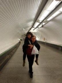 Metro piggybacks
