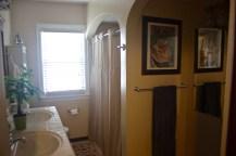 Strangely large bathroom