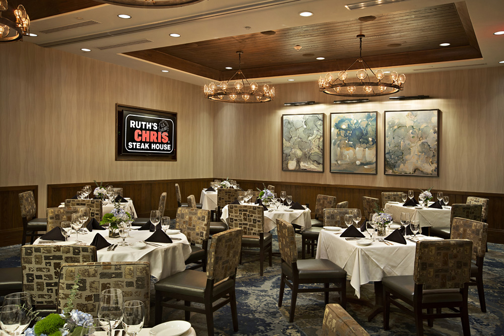 Downtown Greenville SC Ruths Chris Steak Houses Private Dining