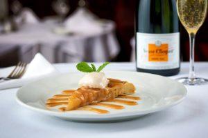 Ruth's Chris Steak House Veuve Champagne Wine Dinner