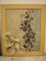 Framed pieces by Ruth Singer & Jan Garside