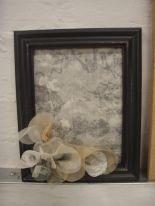 Framed pieces by Ruth Singer & Jan Garside