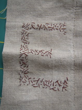 Embroidery commission