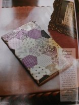 Patchwork book cover designed by Ruth Singer