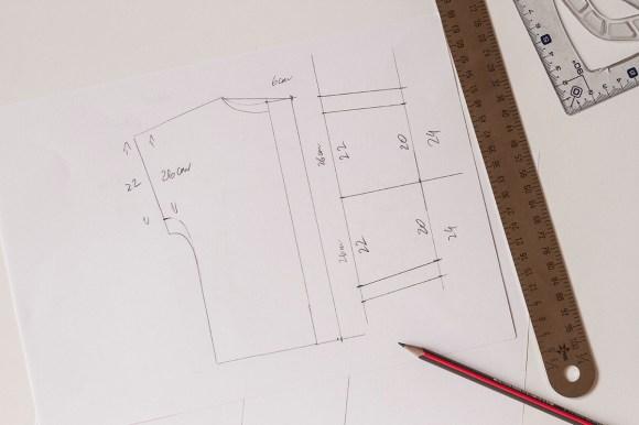 Õpetus – Avara, sirge pluusi konstrueerimine – Algajale!