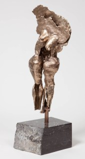 """169 BOUNTIFUL (view 2) - Bronze, cast and assembled 2009 - 19"""" x 8"""" x 6"""""""