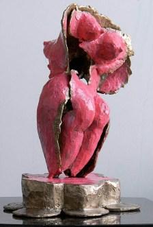 """218 Bon Bob - 14"""" x 9"""" x 6"""" - Bronze painted - 2011 (view 1)"""