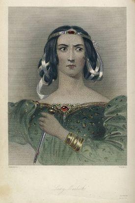 1832 ರಲ್ಲಿ ಮುದ್ರಿತ ಷೇಕ್ಸ್ಪಿಯರ್ನ ಹೀರೋಯಿನ್ಗಳ ವಿಶ್ಲೇಷಣೆಯಲ್ಲಿ ಕಂಡುಬಂದ ಮ್ಯಾಕ್ಬೆತ್ ಕಲಾಕೃತಿ .