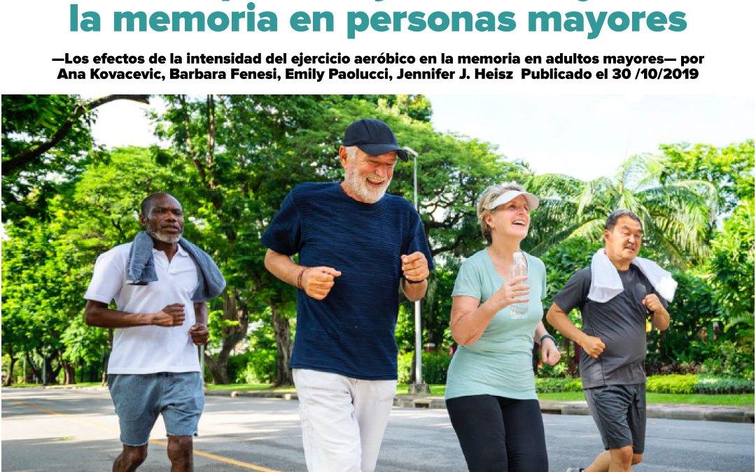 El HIIT podría ayudar a mejorar la memoria en adultos mayores