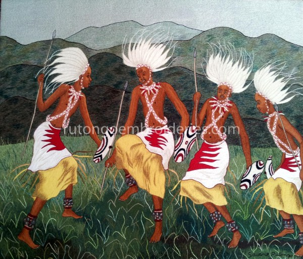 Intore Tableau Rutongo Embroideries
