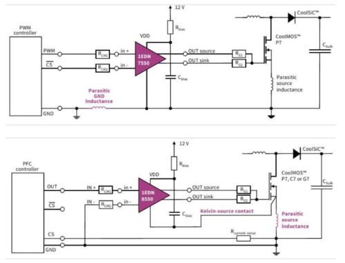 small resolution of infineon 1edn7511bxusa1 1edn8511bxusa1 eicedriver 1edn gate driver ic