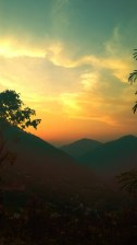 ramgarh sunset
