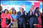 Presidente Danilo Medina entrega Liceo Estado de Israel; alcalde Francisco peña y vicealcaldesa Valentina Cruz estuvieron presentes