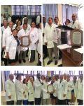 Gerentes del Hospital Marcelino Vélez reconocen gestión del doctor Frank Soto