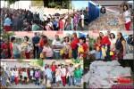 Fundación Damas Solidarias entrega canastas navideñas