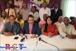 Dirigencia peledeista de SDO anuncia acto de apoyo gestión Danilo Medina