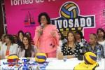 Senadora anuncia inicio de Torneo Superior de Voleibol