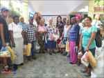 FUNDASSEN realiza su tradicional entrega de Raciones alimenticias en Santo Domingo Oeste