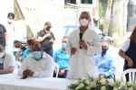 Área  V II Salud realiza Gran Jornada contra Covid-19 y fumiga  El Café  de Herrera