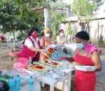 Regidora Jacobina Moreno celebra la navidad con la comunidad de Villa Oeste en Hato Nuevo, Manoguayabo