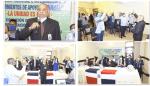 Acto de juramentación en apoyo al gobierno del presidente LUIS ABINADER