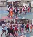 Club deportivo el Hoyo realiza intercambió amistoso con las Faraonas del Club Deportivo Cultural el Abanico