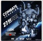 Realizarán cartelera de boxeo profesional en el Coliseo Teo Cruz basado en peleas entre mujeres