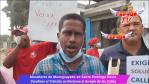 Moradores de Manoguayabo en Sto, Dgo, Oeste Paralizan Tránsito en Reclamo al Arreglo de las Calles