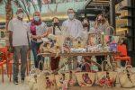 INAGUJA y el Club Juncalito participan en Mercado Central Agora Mall