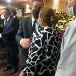 Vicealcaldesa Felipa Gómez   da el pésame a Leonel Fernández por fallecimiento de su madre Yolanda Reyna