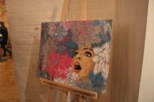 Visual Art by Rachael Sosensky. first-year Creative Industries student.
